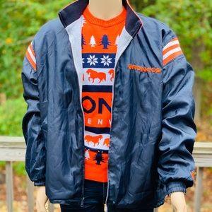 Denver Broncos Reverseable NFL Jacket Size XL